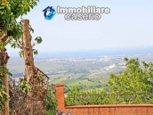 Buying a house with garden and sea view for sale in Molise, village Mafalda 1