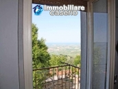 Buying a house with garden and sea view for sale in Molise, village Mafalda 12