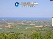 Buying a house with garden and sea view for sale in Molise, village Mafalda 13