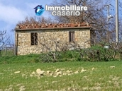 Stone cottage with land for sale in Guilmi, Abruzzo 1