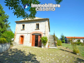 Ancient country house completely renovated for sale in Abruzzo, Italy 4