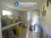 Country house surrounded by greenery with hilly views for sale in Molise 8