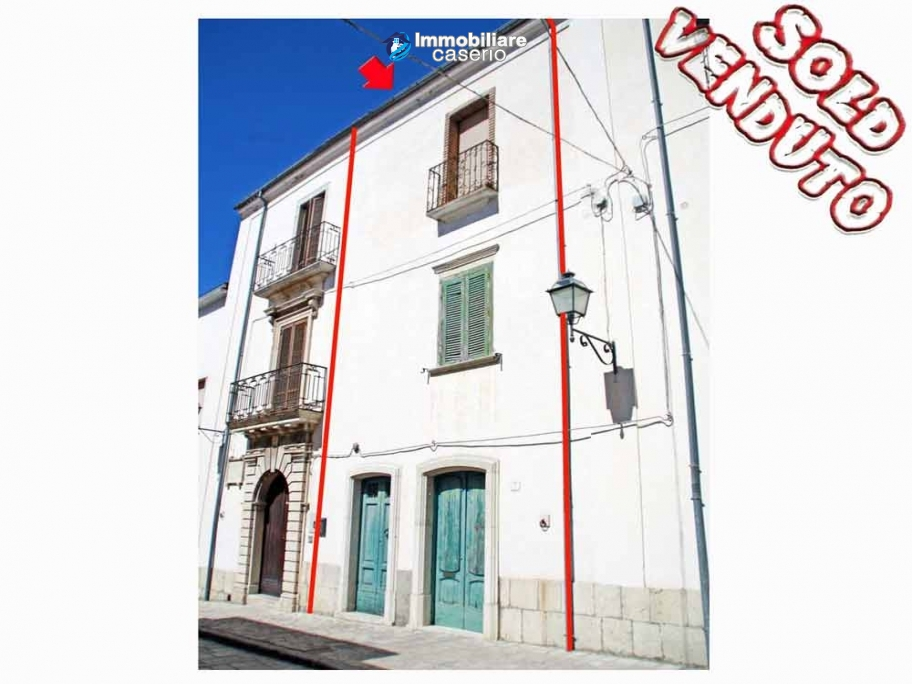 Town house for sale in Castelbottaccio, Campobasso, Molise