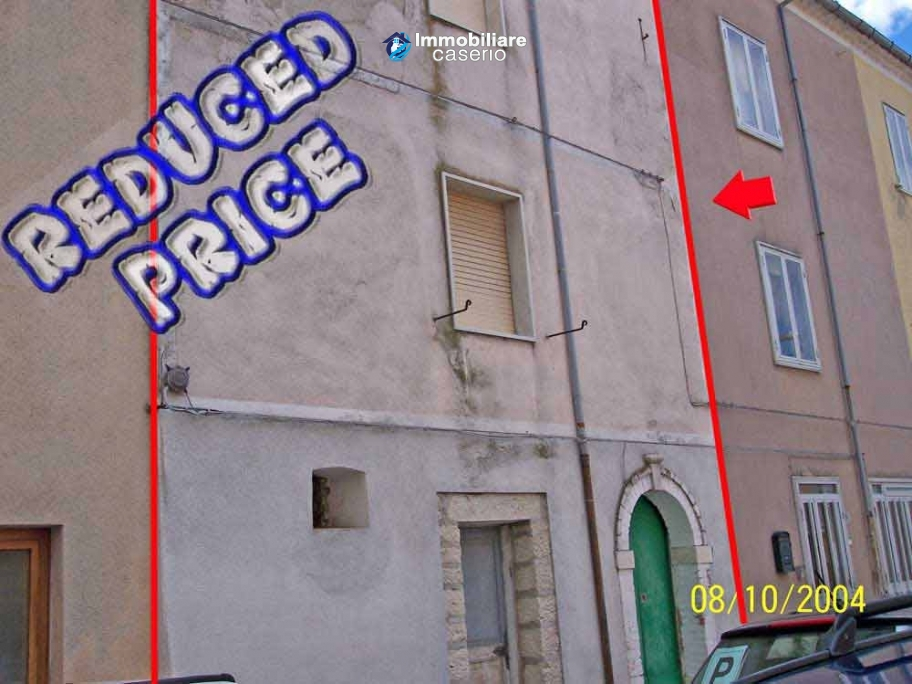 Town house for sale in the centre of Petrella Tifernina, Molise
