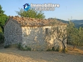 Stone house for sale in wonderful location in Abruzzo's hills 1