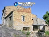 House to be restored with garden for sale in Abruzzo, Italy 1