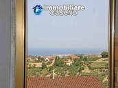 Town house for sale with a fabulous view of the sea in Monteodorisio, Abruzzo 2