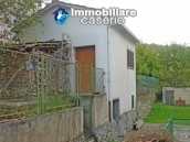 Stone cottage for sale with garden in the green village of Sant'Angelo del Pesco 17
