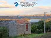 Stone cottage with lake view for sale in the Liscione Guardialfiera, Molise, Italy 1