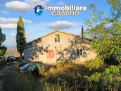 House with planning permission with a view of the lake and the sea for sale in Italy 4