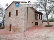Renovated stone farmhouse with land for sale in Busso, Molise, Italy 1