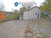 Renovated stone farmhouse with land for sale in Busso, Molise, Italy 41