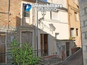 Habitable town house with garden for sale in Castelbottaccio, Molise 1