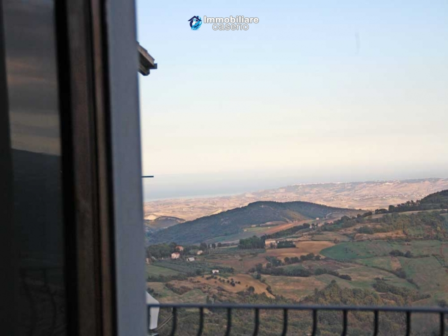 Independent habitable apartment with sea view for sale in Palmoli, Chieti, Abruzzo