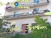 Habitable spacious home with stone tavern, terrace overlooking Liscione lake Italy 13