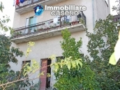 Habitable spacious home with stone tavern, terrace overlooking Liscione lake Italy 14