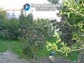 Habitable spacious home with stone tavern, terrace overlooking Liscione lake Italy 15