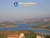 Habitable spacious home with stone tavern, terrace overlooking Liscione lake Italy 2