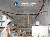 Habitable spacious home with stone tavern, terrace overlooking Liscione lake Italy 36