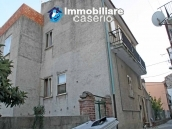 Habitable spacious home with stone tavern, terrace overlooking Liscione lake Italy 9