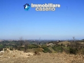 Land with possibility to build with sea view for sale in Italy - village Pollutri 12
