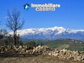 Land with possibility to build with sea view for sale in Italy - village Pollutri 13