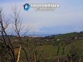 Land with possibility to build with sea view for sale in Italy - village Pollutri 17