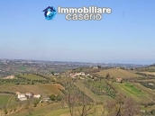 Land with possibility to build with sea view for sale in Italy - village Pollutri 19