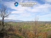 Land with possibility to build with sea view for sale in Italy - village Pollutri 9