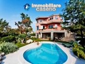 Villa with swimming pool for sale with furniture in Rejeka, Croatia 1