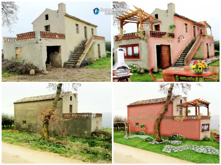 Rural house with land for sale in Atessa, Abruzzo
