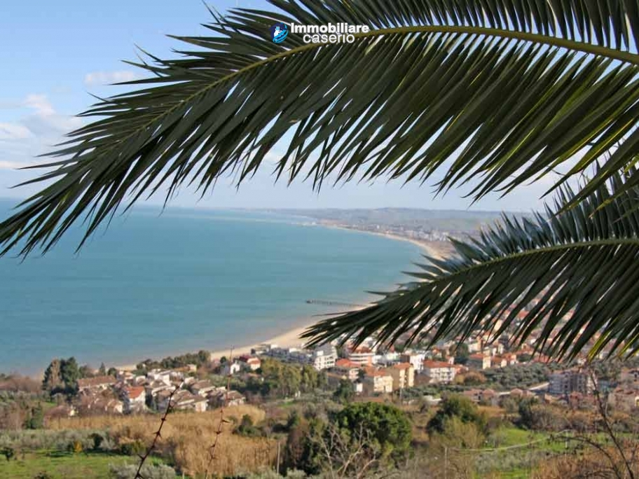 Duplex apartment for sale with sea view in Vasto, Abruzzo