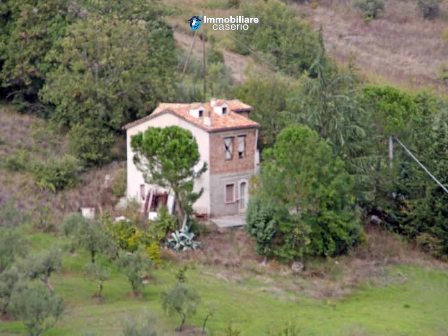 Country house with olive trees for sale near Campobasso, Molise