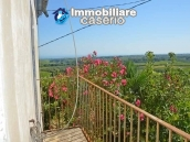 Rustic cottage sea view with land and fruit trees for sale in Abruzzo 2