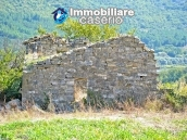 Ruin with 10 hectares of land for sale with sea view, Molise 1