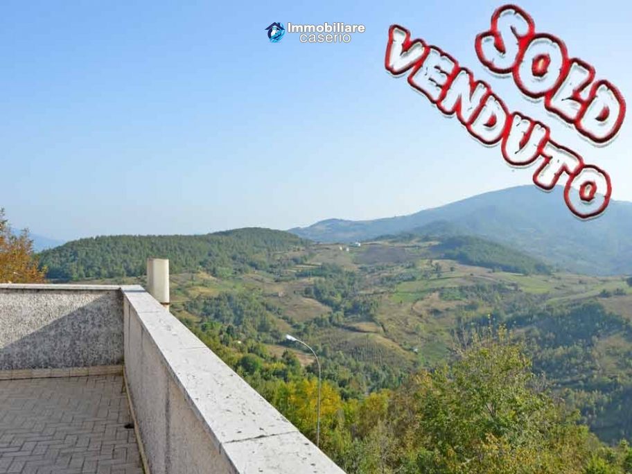 Spacious habitable house with terrace and garden for sale in Abruzzo
