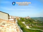 House with garage and panoramic view for sale in Italy, region Abruzzo, village Furci 1