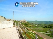House with garage and panoramic view for sale in Italy, region Abruzzo, village Furci 2