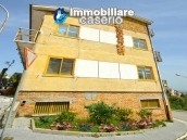 House with garage and panoramic view for sale in Italy, region Abruzzo, village Furci 21