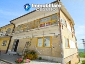 House with garage and panoramic view for sale in Italy, region Abruzzo, village Furci 22