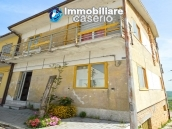 House with garage and panoramic view for sale in Italy, region Abruzzo, village Furci 23