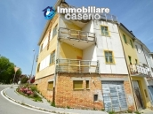House with garage and panoramic view for sale in Italy, region Abruzzo, village Furci 24