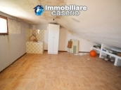 House with garage and panoramic view for sale in Italy, region Abruzzo, village Furci 5