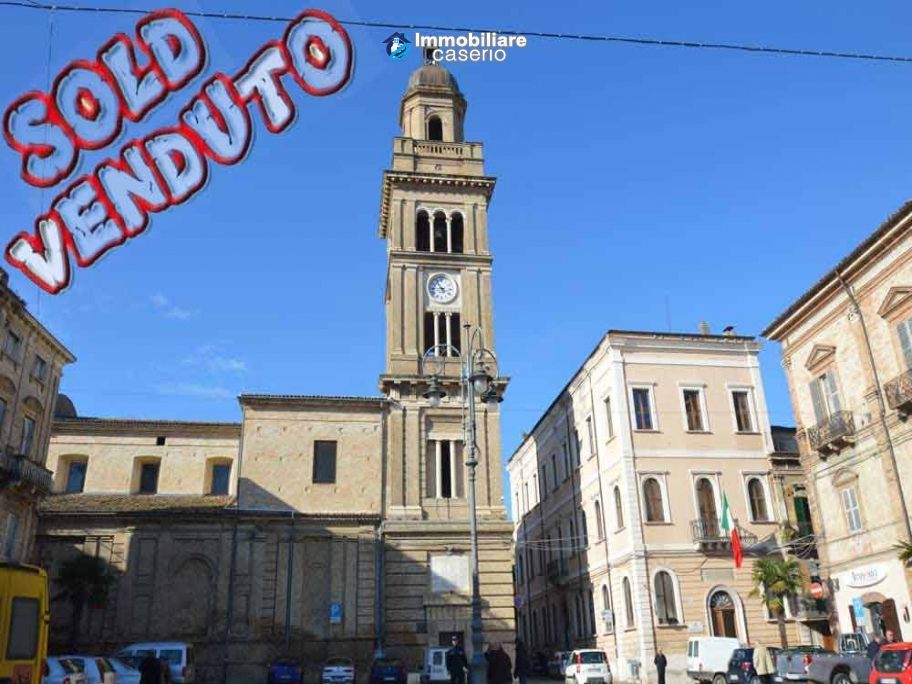 Brick town house close to the center of Casalbordino for sale at exceptional price
