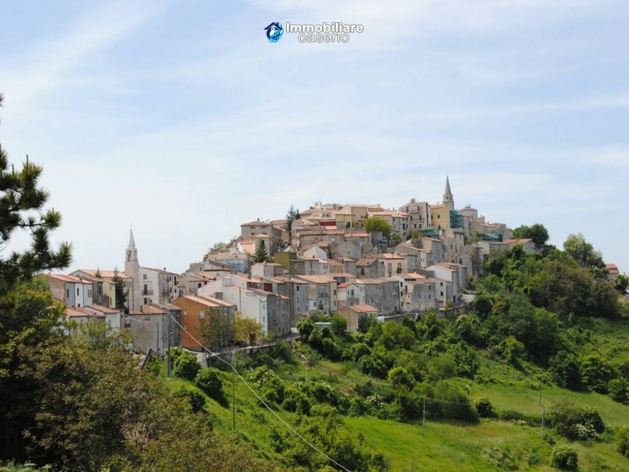 Renovated stone house with beautiful view for sale in Molise