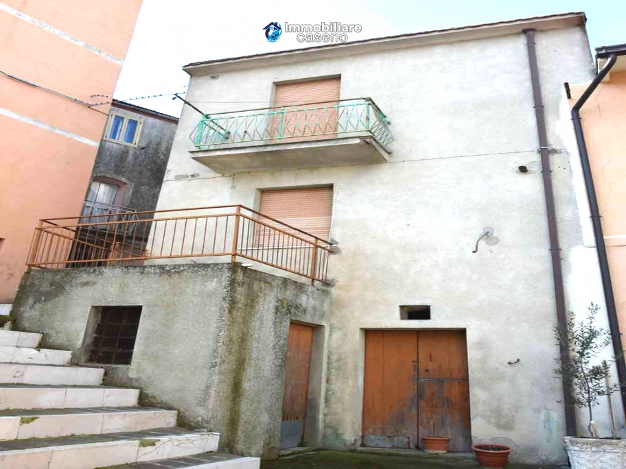 Town house with panoramic view for sale in Mafalda, Molise