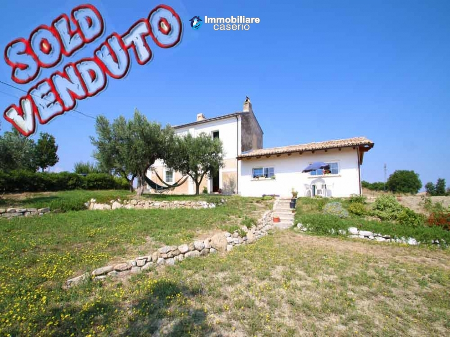 Renovated house with garden for sale in Scerni, Abruzzo