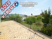Italian property with a garden and terrace for sale in Roccaspinalveti 1