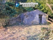 Properties for sale in Abruzzo - Ruin with land and water source for sale in Treglio 1