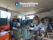 Garage with 3 hectares of land for sale a 2 km from Andriatic sea, Molise 3